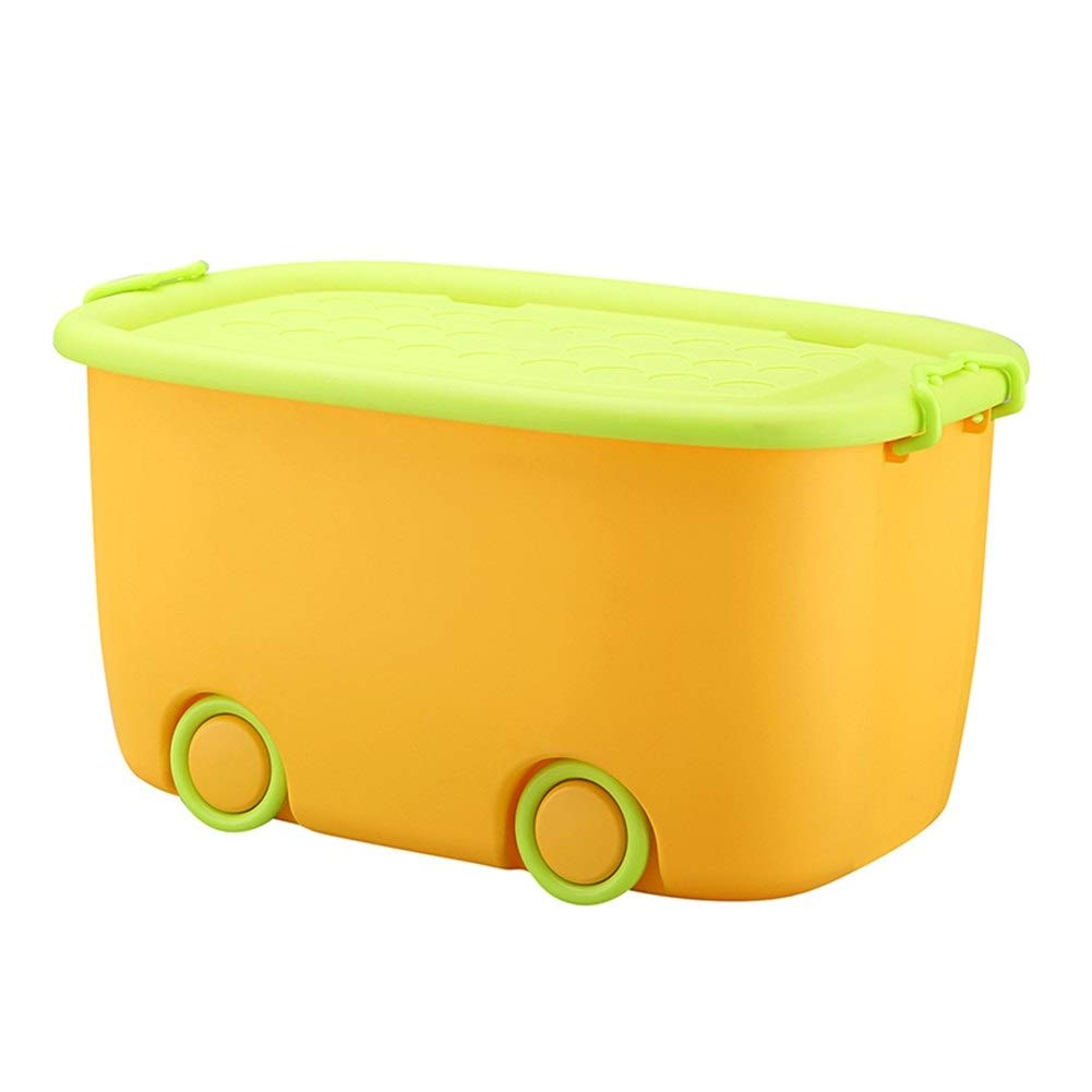 Xiguan Large Storage Box Multi-Function Storage Clinker Can Be Superimposed and Sealed to Save Space (Color : Orange, Size : 5938.530)