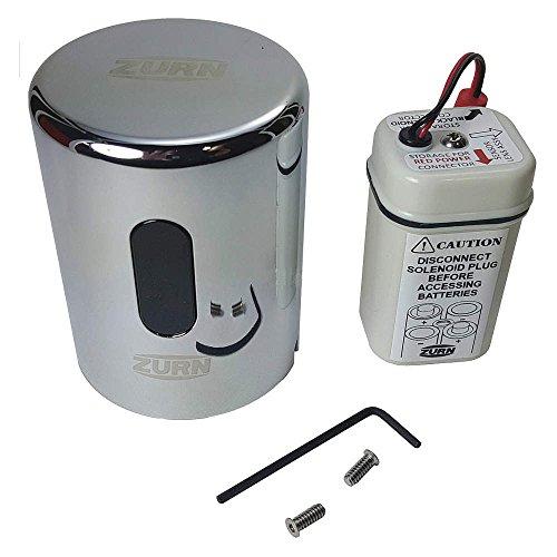 Zurn PTR6200-L-1.28 Commercial Brass PTR6200 ZTR Replacement Sensor Valve Cap for 1.28 gpf Valve, Compatible with ZTR Flush Valves, Flushometer Repair Part