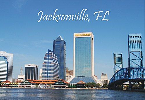 - Jacksonville, Florida, Jonathan's Landing, FL, Skyline, Souvenir Magnet 2 x 3 Photo Fridge Magnet