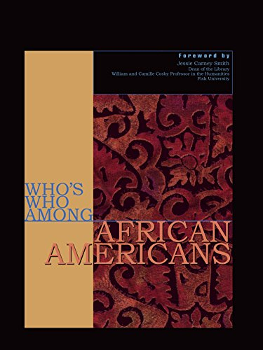 Search : Who's Who Among African Americans