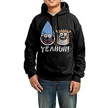 Teenage Youth Regular Show Rigby Mordecai Hooded Sweatshirt