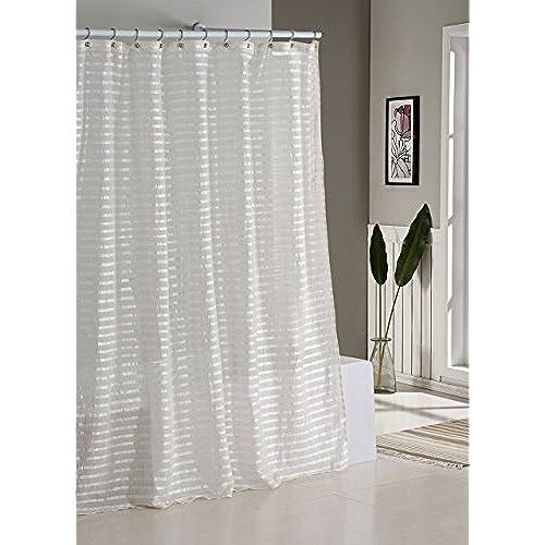 linen shower curtain. Black Bedroom Furniture Sets. Home Design Ideas