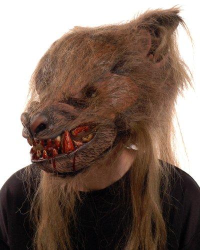 Zagone Kick Ass Wolf Masks, Werewolf, Wolfman Moving Mouth