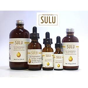 100% Pure Organic T-50 Tocopherol Vitamin E Oil (16 oz)