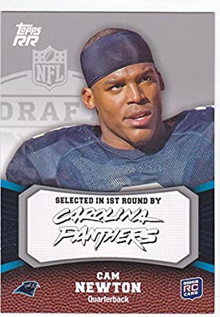 2011 Topps Rr Cam Newton Rookie Card Panthers At Amazons Sports