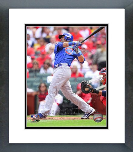(Geovany Soto Chicago Cubs 2012 Batting Framed Picture 8x10)