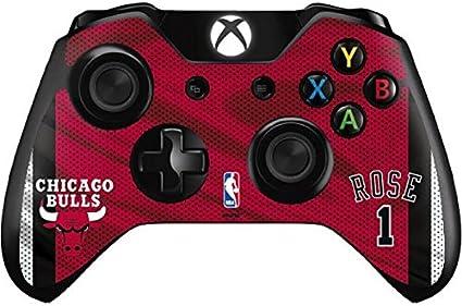 NBA Chicago Bulls Xbox One - Controller Skin - Derrick Rose Chicago Bulls Jersey Vinyl Decal Skin For Your Xbox One - Controller by Skinit: Amazon.es: Belleza