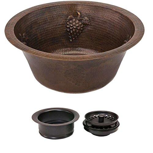 Premier Copper Sink Bundle Grapes with 3.5