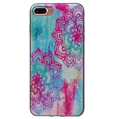 Defunct Mandala Stylish Patterned TPU Case for iPhone 7 Plus 5.5 inch