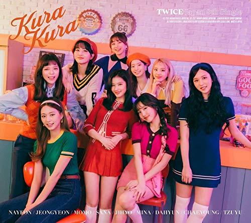 [2021년 5월 12일 발매 예정] [ TWICE  트와이스 - Kura Kura (첫 한정반A) (메가 자케 포함)