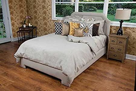 Unfilled King Rizzy Home Covington Charcoal Linen Bedding Duvet Cover