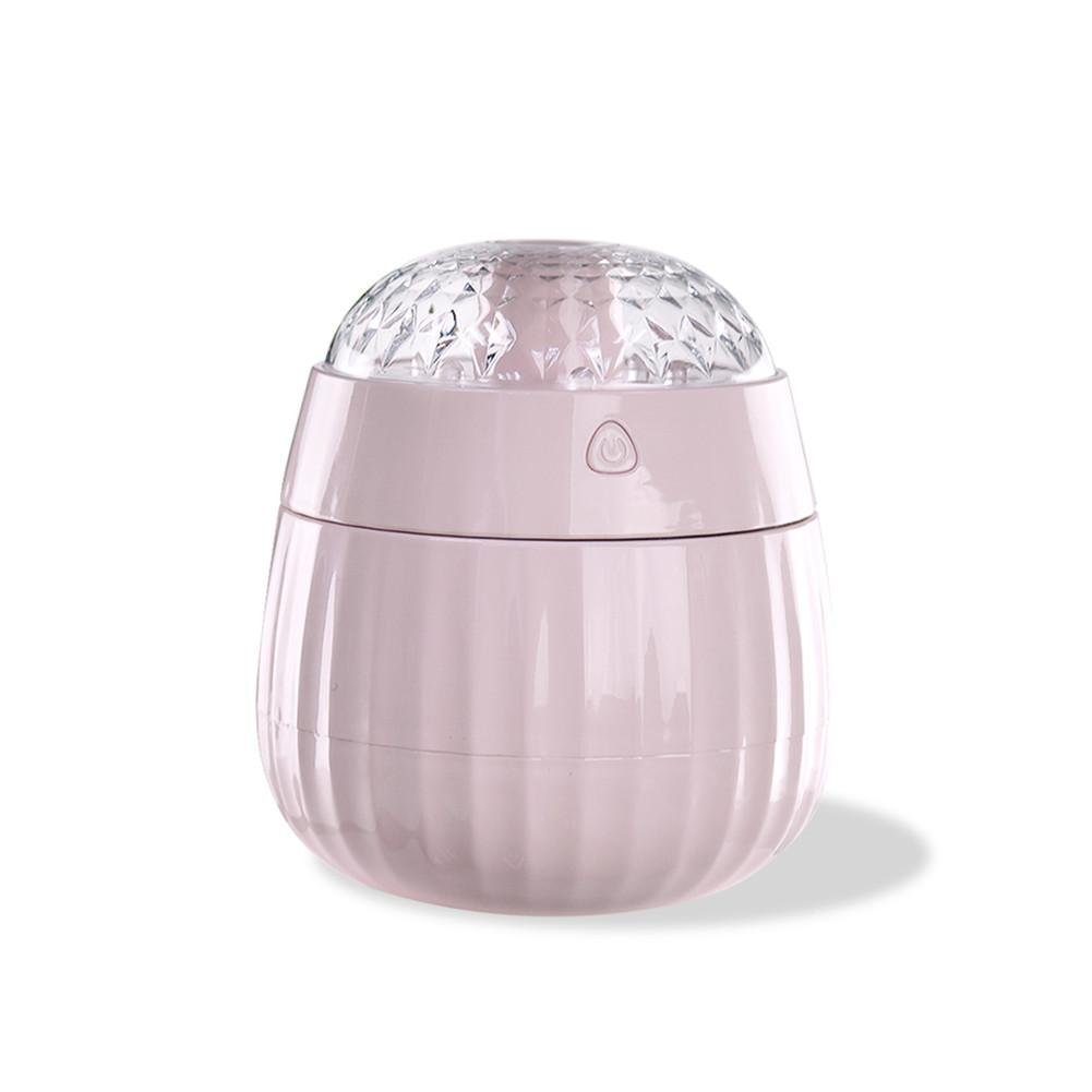 jannyshop USB Ultrasonic Cool Mist Humidifier Aroma Essential Oil Diffuser with Auto-Off Safety Switch 7 LED Light Colors