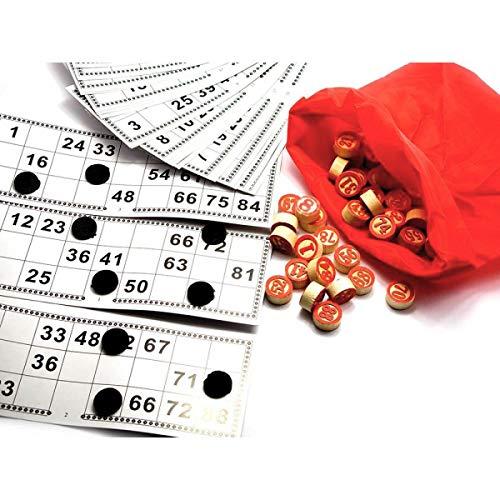 Russian Lotto Game - Russian Bingo Board Game - Board Lotto Game