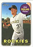 Baseball MLB 2018 Topps Heritage #310 Kyle Freeland #310 NM Near Mint Rockies