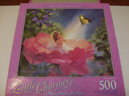 500 Gold Series (Little Charmers Series 500 Piece Puzzle The Golden Butterfly)