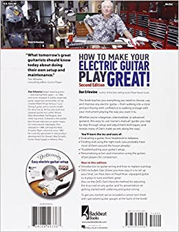 how to make your electric guitar play great second edition bk online media dan erlewine. Black Bedroom Furniture Sets. Home Design Ideas