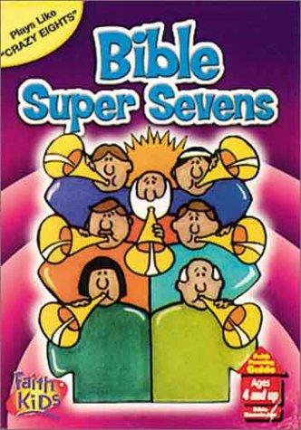 Jumbo Card Game Bible Super Seven