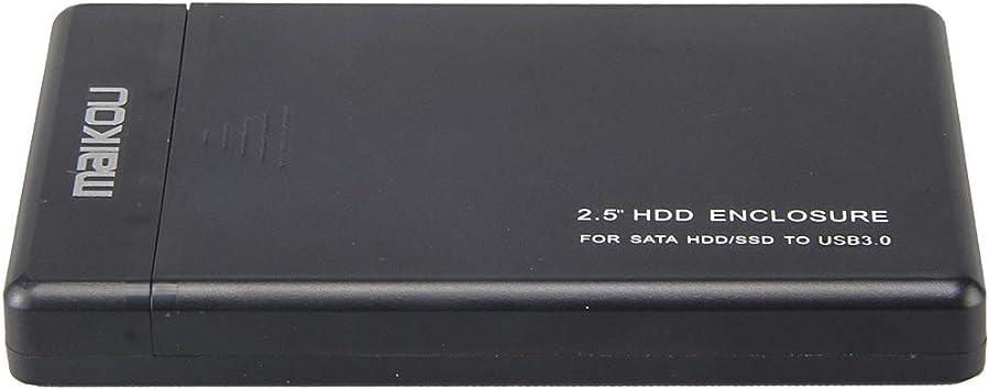 H HILABEE 2.5インチ SATAハードディスク USB 3.0 ハードドライブ外付けハードドライブケース