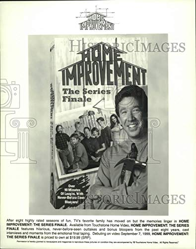 Vintage Photos 1999 Press Photo Advertisement for Video Release of Home Improvement Episode