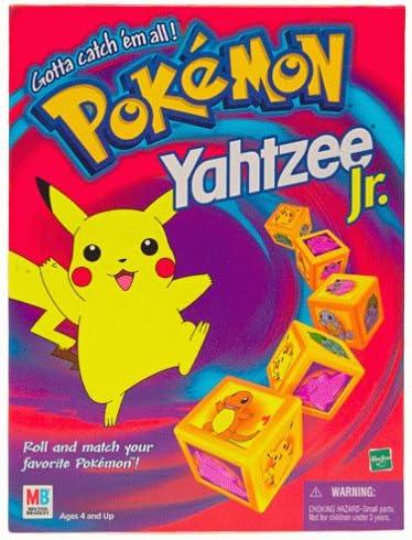 Pokemon Yahtzee Jr.: Amazon.es: Juguetes y juegos