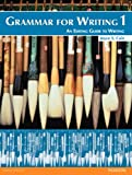 Grammar for Writing No. 1 : An Editing Guide to Writing, Cain, Joyce S., 0132088983