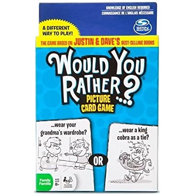 Would You Rather? Picture Card Game: Toys & Games