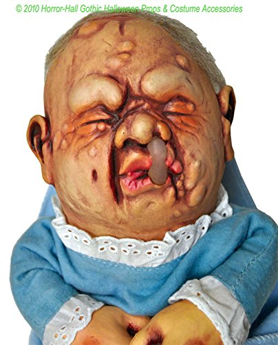 BABY STINKY PUPPET Creepy Realistic Mutant DOLL Halloween Prop Costume Accessory -