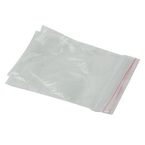 Amazon.com: 200 bolsas de plástico con cierre de cremallera ...