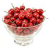 MyLifeUNIT Artificial Cherry Fruit, Artificial Fruit for Decoration, 100 PCS