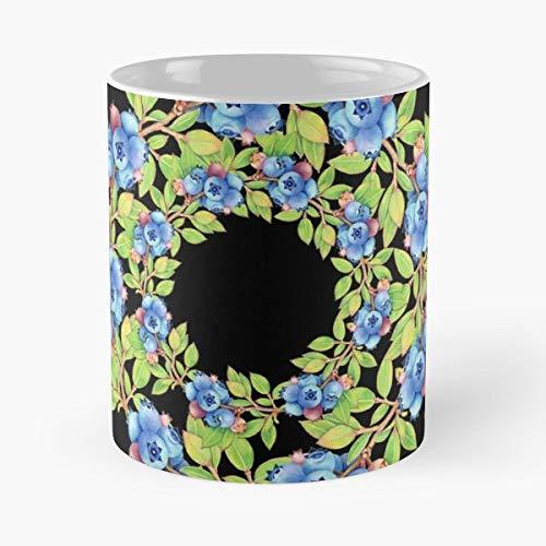 (Blueberries Wild Maine - Ceramic)