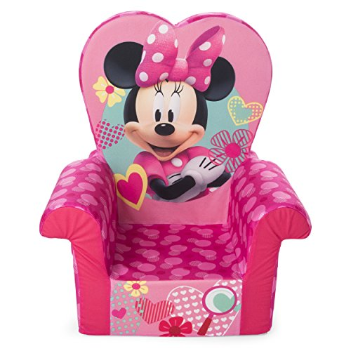 Marshmallow Furniture Children's Foam High Back Chair, Disney's Minnie Mouse High Back Chair by Marshmallow Furniture