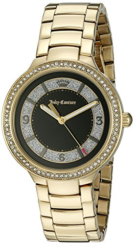 Juicy Couture Women's 1901400 Catalina Analog Display Japanese Quartz Gold Watch (Juicy Couture Ring Set)