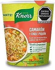 Knorr, Sopa Lista ¡al instánte! Camarón Chile Piquín Knorr 64g. Con un toque de Knorr. Vaso sin unicel., 64 gr