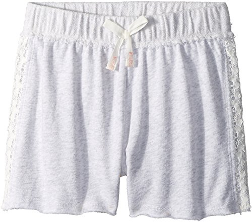 - Splendid Littles Girl's French Terry Shorts w/Lace (Big Kids) Light Grey Heather 10