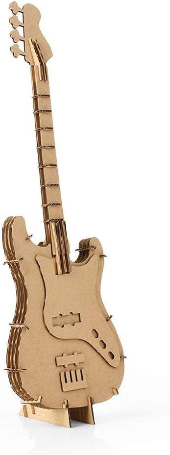Paper Maker DIY Guitarra Modelo de cartón Arte Creativo Arte Decoración del hogar: Amazon.es: Hogar