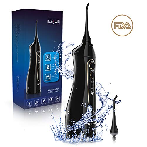 Cordless Water Flosser Oral Irrigator - ...