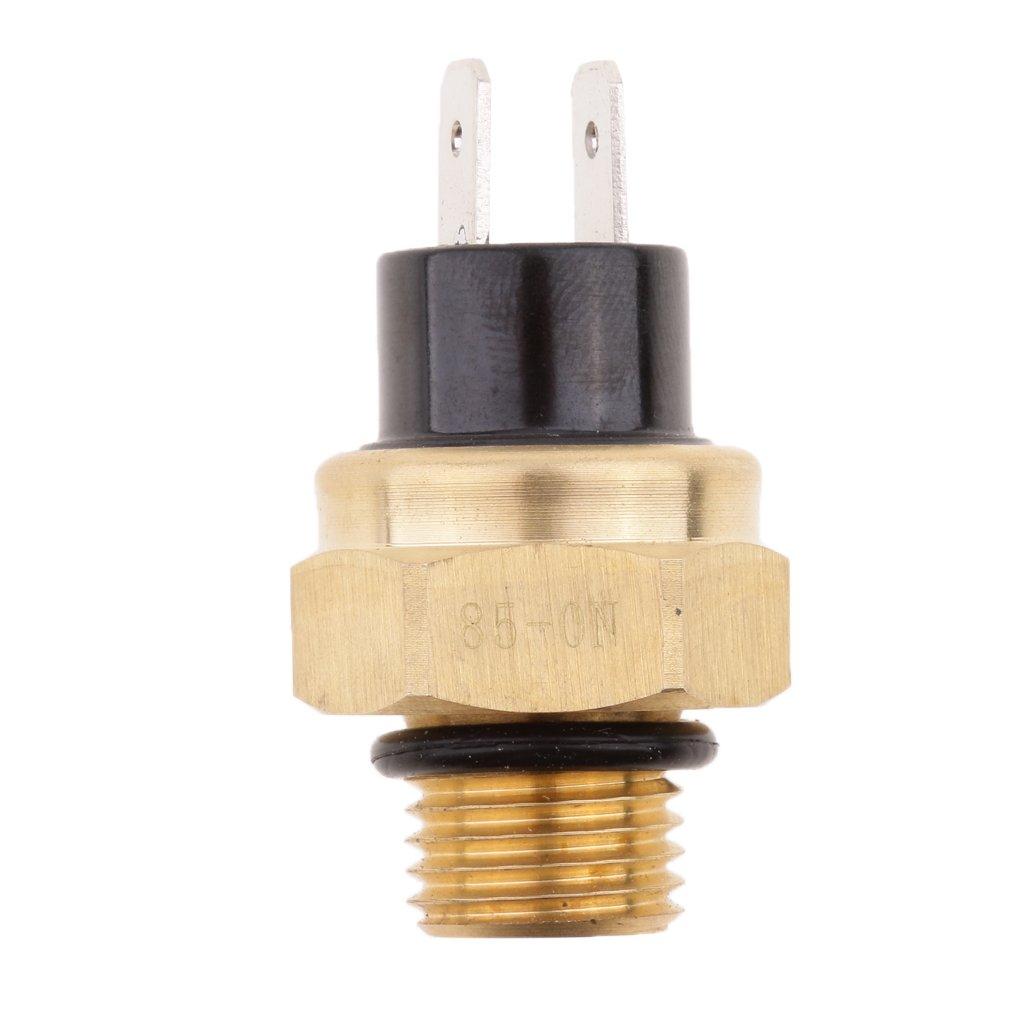 sharplace Sensore di temperatura interruttore termico per ventola del radiatore per moto M14 x 1,5 mm, 95 ℃ 5mm 95℃