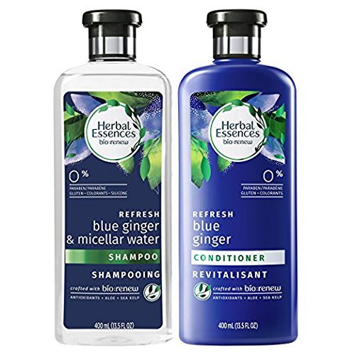 Herbal Essences, Shampoo and Conditioner Kit, BioRenew Micellar Water & Blue Ginger, 13.5 fl oz, Kit