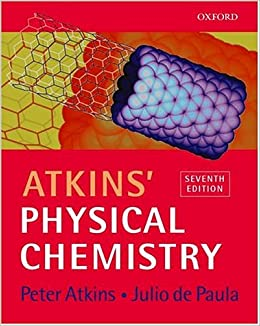 Atkins physical chemistry peter w atkins julio de paula atkins physical chemistry peter w atkins julio de paula 9780198792857 amazon books fandeluxe Image collections