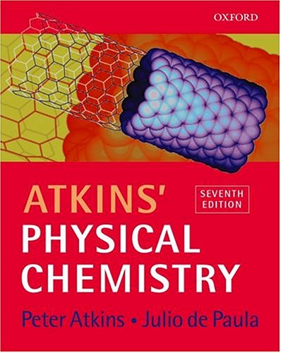 atkins physical chemistry peter w atkins julio de paula rh amazon com Physical Chemistry Peter Atkins Physical Chemistry Equations