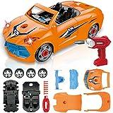 LUKAT Toys for 3 Year Old Boys, Take Apart Racing