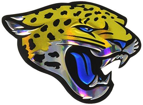 NFL Jacksonville Jaguars Die Cut Color Automobile ()