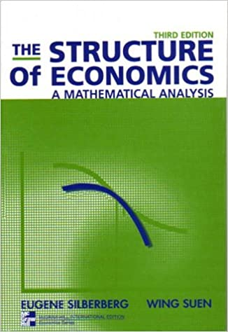 The structure of economics a mathematical analysis 9780071181365 the structure of economics a mathematical analysis 3rd edition fandeluxe Choice Image