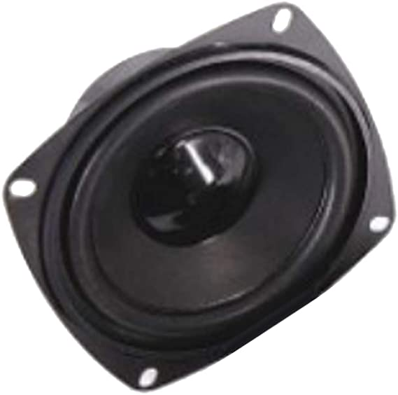 P Prettyia Reemplazos de Altavoz de Bafle Rango Completo Bocina de Bajos, 20W 4Ohm 4 ''