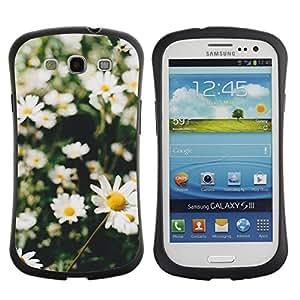 Suave TPU GEL Carcasa Funda Silicona Blando Estuche Caso de protección (para) Samsung Galaxy S3 I9300 / CECELL Phone case / / daisies summer field sun green nature /