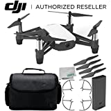 Ryze Tello Quadcopter Drone with HD camera and VR - powered by DJI technology and Intel Processor Starter Travel Bundle