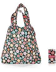 Reisenthel mini maxi shopper Borsa Messenger, 60 cm, 15 liters, Multicolore (Happy Flowers)