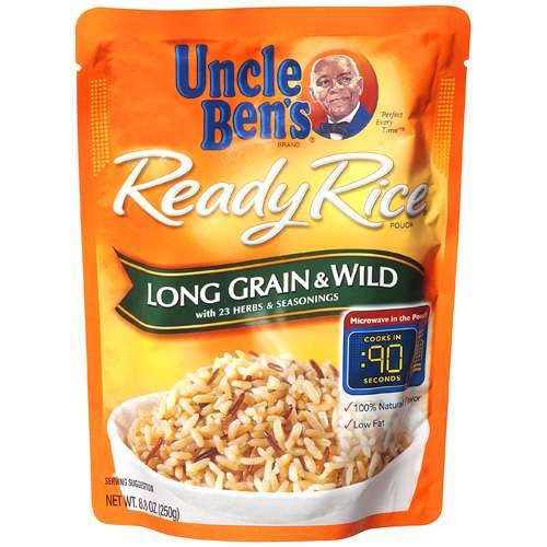 Uncle Ben's Ready Rice Long Grain & Wild, 8.8-Ounce Packages (Pack of 6) by Uncle Ben's