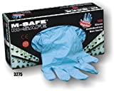 (20 Boxes) Majestic POWDERED DISPOSABLE NITRILE GLOVES, 100/BOX - 2X LARGE(3275/12)