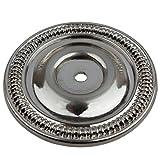 GlideRite Hardware 5060-SN-100 Round Cabinet Back Plate, 100 Pack, 2.5'', Satin Nickel
